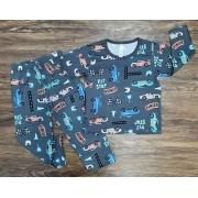 Pijama Pit Stop Inverno Infantil