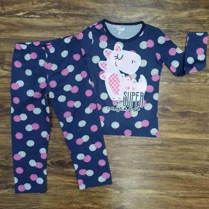 Pijama Super Cuteness Azul Infantil