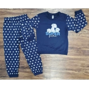 Pijama Super Filha Infantil