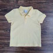 Polo Amarela Básica Infantil