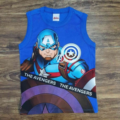 Regata Azul The Avengers Infantil