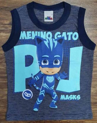 Regata PJ Masks Menino Gato Infantil