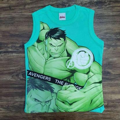Regata Verde Incrível Hulk Infantil