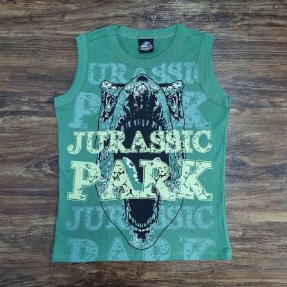 Regata Verde Jurassic Park Infantil