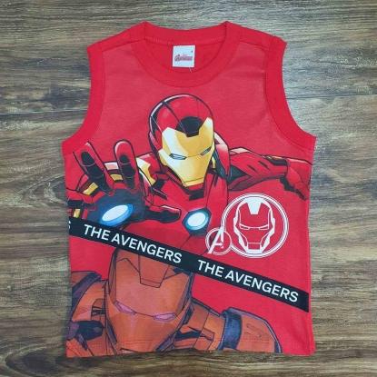 Regata Vermelha The Avengers Infantil