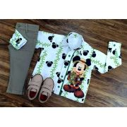 Roupa Mickey Safari Inverno