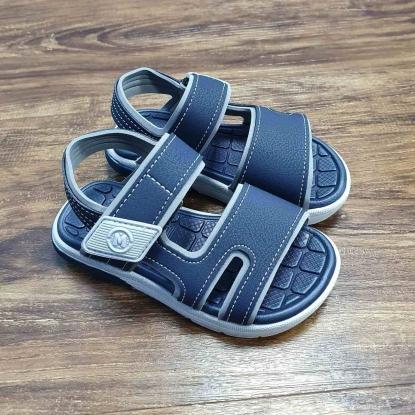 Sandália Azul Marinho com Branco Infantil