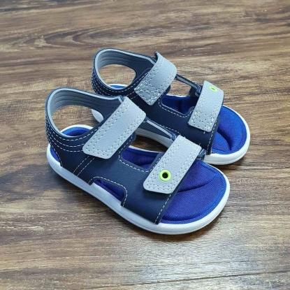 Sandália Azul Marinho com Velcro Infantil