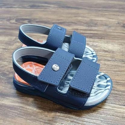 Sandalia Azul Marinho Velcro Infantil