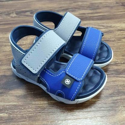 Sandália Casual Azul com Cinza Infantil