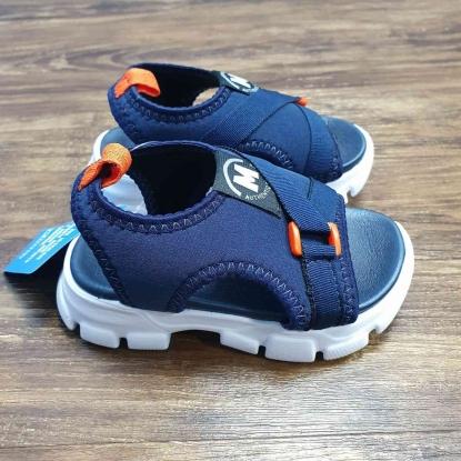 Sandália com Gorgurão Azul Infantil