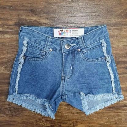 Shorts Básico com Detalhes Infantil