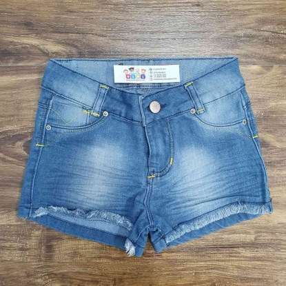 Shorts Básico Jeans Infantil