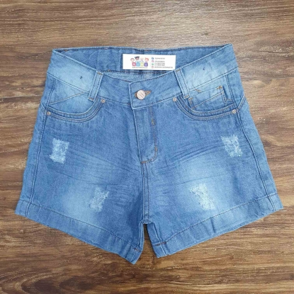Shorts Claro Jeans com Detalhes Infantil