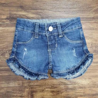Shorts com Detalhes Feminino Infantil