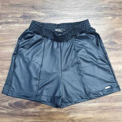 Shorts Preto Feminino Infantil