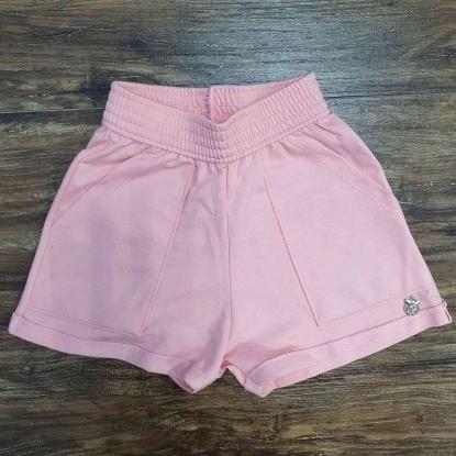 Shorts Rosa Infantil