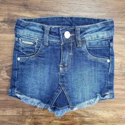 Shorts Saia Jeans Infantil