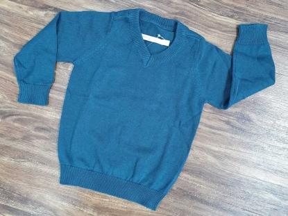 Suéter Azul Petróleo Malwee