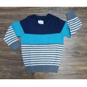 Suéter Color Listrado Infantil