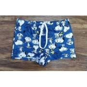 Sunga Snoopy Azul Infantil