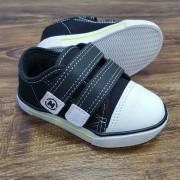 Tênis de Velcro Preto Infantil
