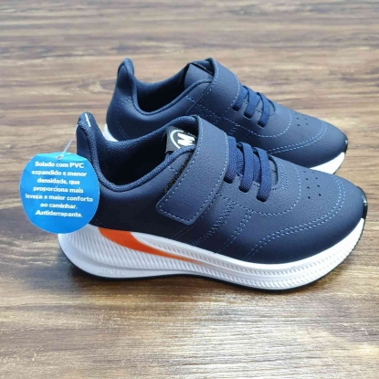 Tênis Sport Velcro Azul Infantil