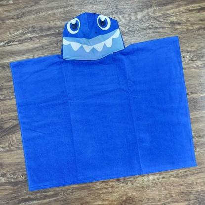 Toalha de Banho Infantil Azul