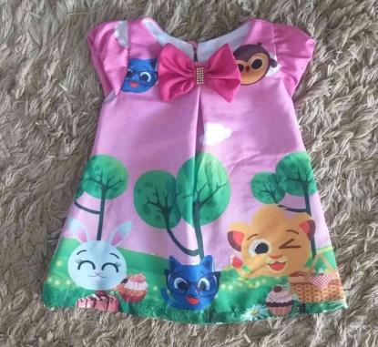 Vestido Bolofofos Infantil