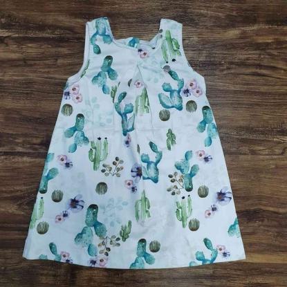 Vestido Curto Desert  Infantil
