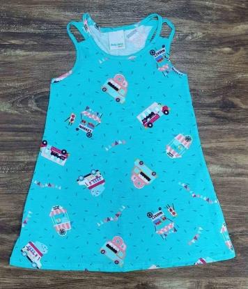 Vestido Curto Market Infantil