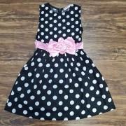 Vestido de Bolinhas Infantil