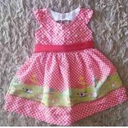 Vestido Fazendinha Infantil