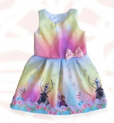 Vestido Frozen Infantil