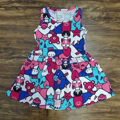 Vestido Gatos Infantil