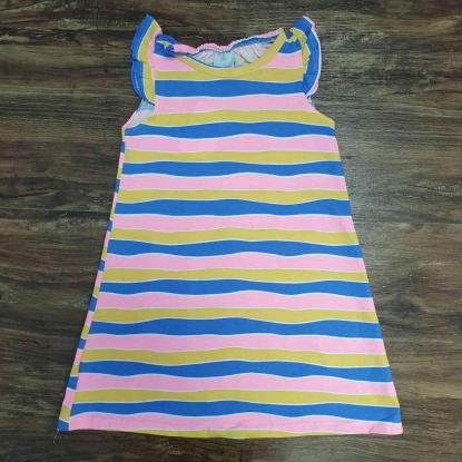 Vestido Listras Infantil