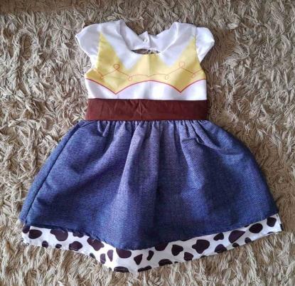 Vestido Jessie Toy Story Infantil