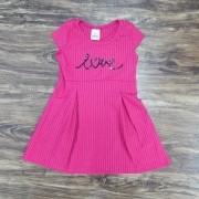 Vestido Love Infantil