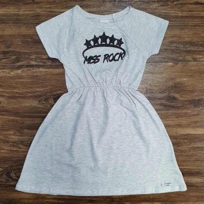 Vestido Miss Rock Infantil