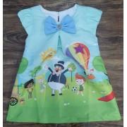 Vestido Mundo Bita Infantil