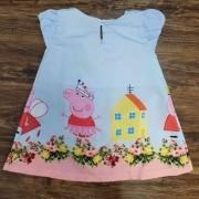 Vestido Peppa Pig Infantil
