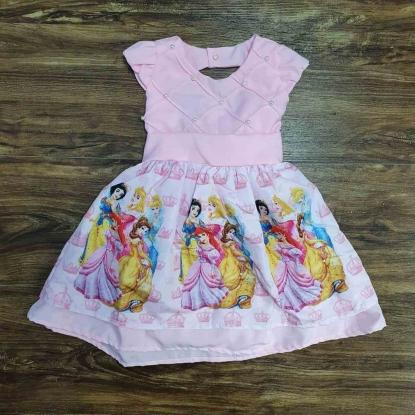Vestido Princesas Infantil
