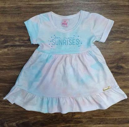 Vestido Sunrises Tye Dye Infanil