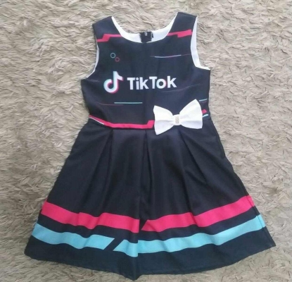 Vestido TikTok Infantil