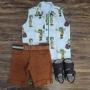 Bermuda com Camisa Chaves Infantil