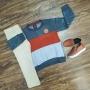 Blusa Listrada com Calça Infantil