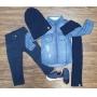 Camisa Jeans com Calça Infantil