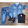 Camisa mais Polo com Calça Infantil