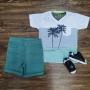 Camiseta Summer com Bermuda Infantil
