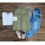 Colete CRH com Camisa e Calça Jogger Infantil